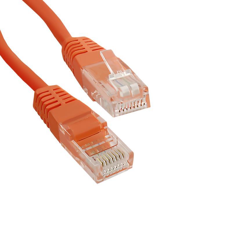 Qoltec Patch kabel CROSSOVER, CAT5E UTP 0,5m