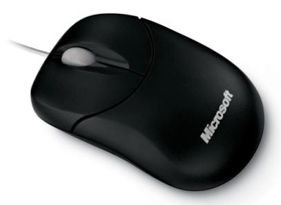 Compact Optical Mouse 500 Mac/Win Black