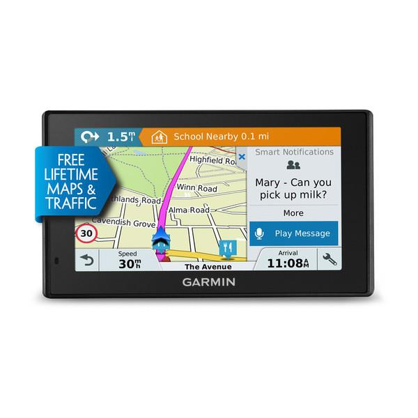 Garmin navigace DriveSmart 70LMT-D Evropa, 7.0'', Lifetime Map & Traffic