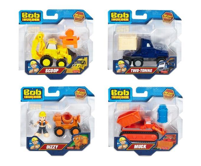 Fisher Price Bob Builder Small die-cast Vehicle