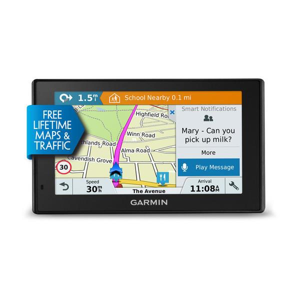 Garmin navigace DriveSmart 50LMT-D Evropa, 5.0'', Lifetime Map & Traffic