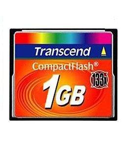 Transcend 1GB CF (133X) paměťová karta