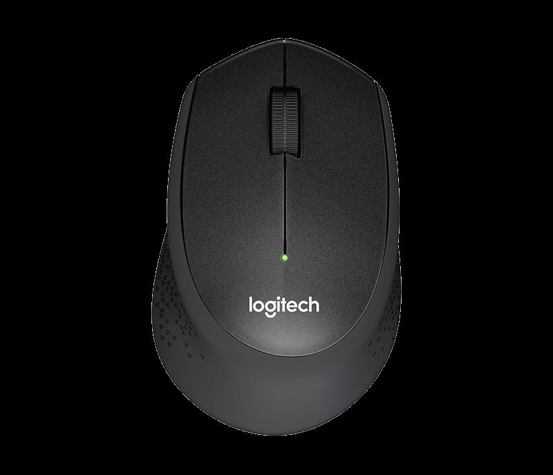Logitech Počítačová myš M330 Silent Plus, černá