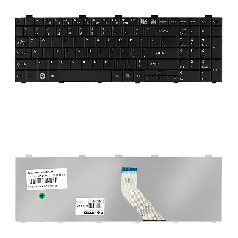 Qoltec Klávesnice pro notebook Fujitsu AH530 AH531 NH751
