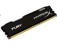 DIMM DDR4 8GB 2666MHz CL15 KINGSTON HyperX FURY Black