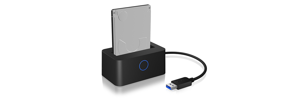 IcyBox Docking station for 2,5'' SATA HDD/SSD, USB 3.0, LED