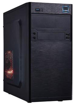 Eurocase MC X202, mATX, bez zdroje, 2xUSB2.0, 1xUSB3.0, černá, poškozené balení