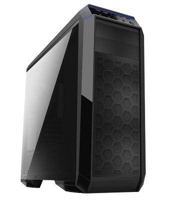 Chieftec case GP-01B-OP, without PSU