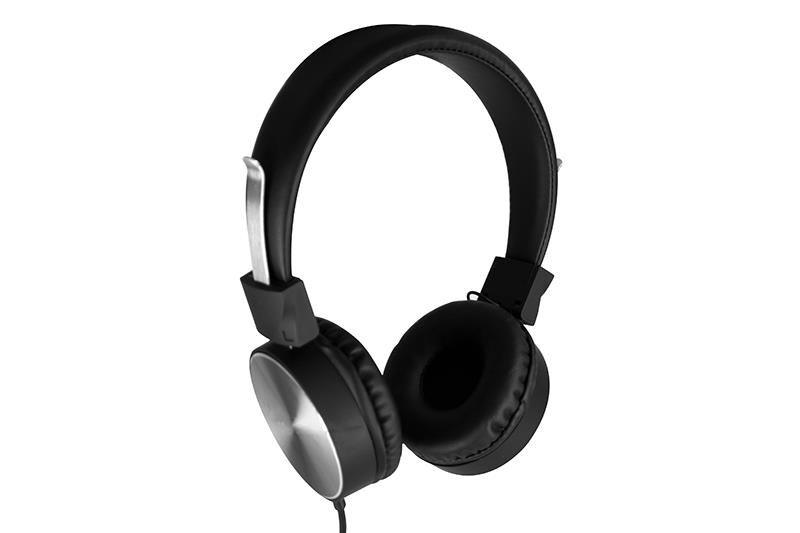 ATOMIC - Stereo headphones with microphone to use with all mobile device