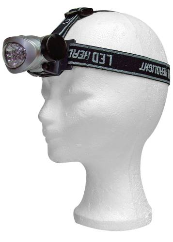 Emos LED svítilna čelovka ST-8301, 8 diod, 3x AAA