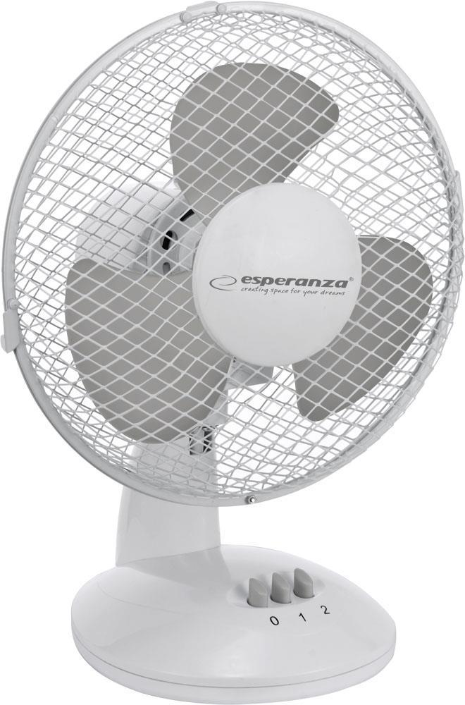 Esperanza EHF004WE ZEPHYR stolní ventilátor, bílo-šedý