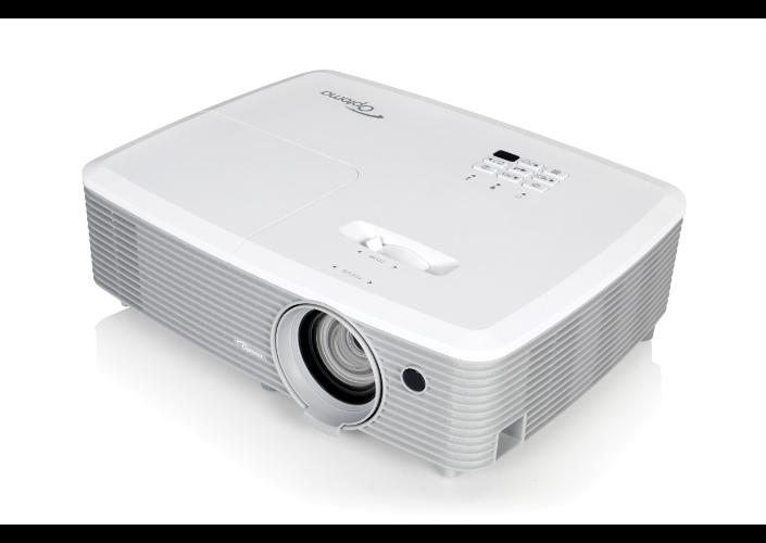 Projector Optoma W400+ (DLP, 4000 ANSI, WXGA, 22 000:1, full 3D)
