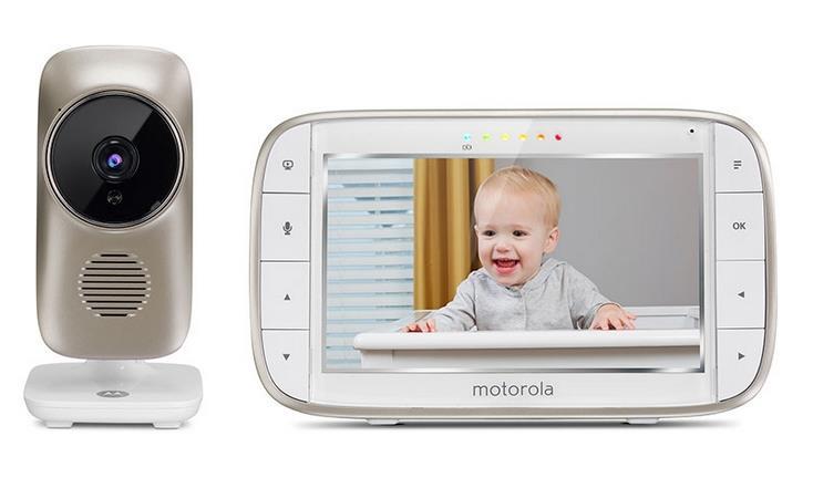 Motorola MBP845 CONNECT elektronická chůvička + kamera