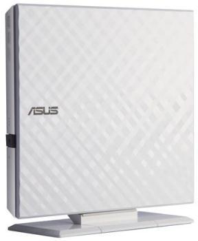 ASUS DVD-/+RW 8x, white, externí, USB 2.0, Retail