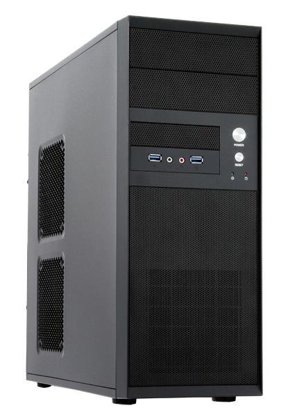 CHIEFTEC Case Mesh Series Miditower, CQ-01B-U3-OP, Black, bez zdroje