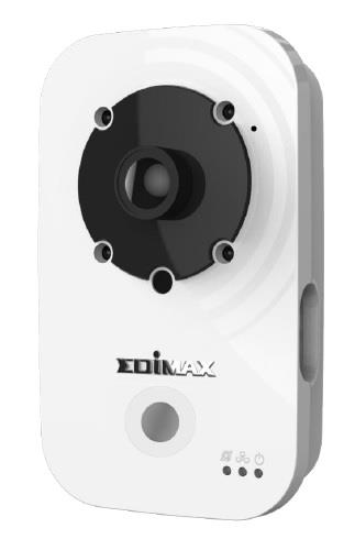 Edimax 720p Wireless H.264 IR IP Camera, PIR sensor, 2-way audio, noční režim