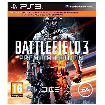 BATTLEFIELD 3 PREMIUM EDITION PS3 CZ/SK/HU