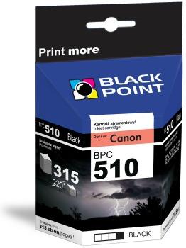 Ink Black Point BPC510   Black   12,5 ml   Canon PG-510