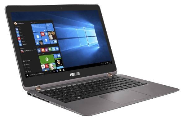 """ASUS UX360UAK-BB322T i5-7200U/8GB/256G SSD SATA3/HD graphics/13,3"""" 1920x1080 IPS Touch matný/W10/Gray"""