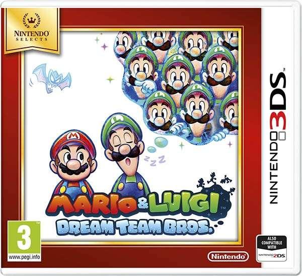 Nintendo 3DS Mario & Luigi: Dream Team Bros. Select