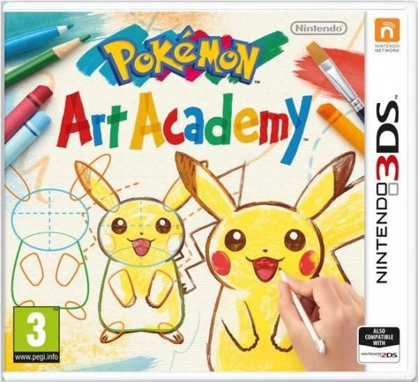 Nintendo 3DS Pokemon Art Academy