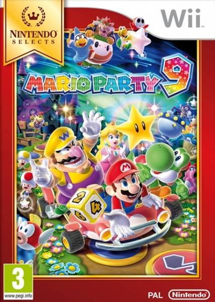 Nintendo Wii Mario Party 9 Nintendo Selects