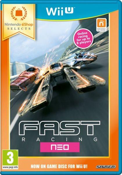 Nintendo WiiU Fast Racing Neo eShop Selects