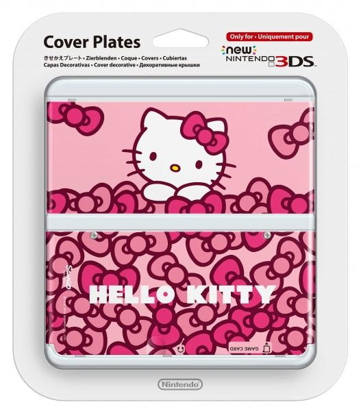 Nintendo New 3DS Cover Plate - Hello Kitty