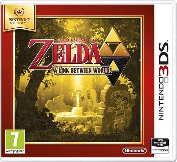 Nintendo 3DS The Legend of Zelda: A Link Between W. Select