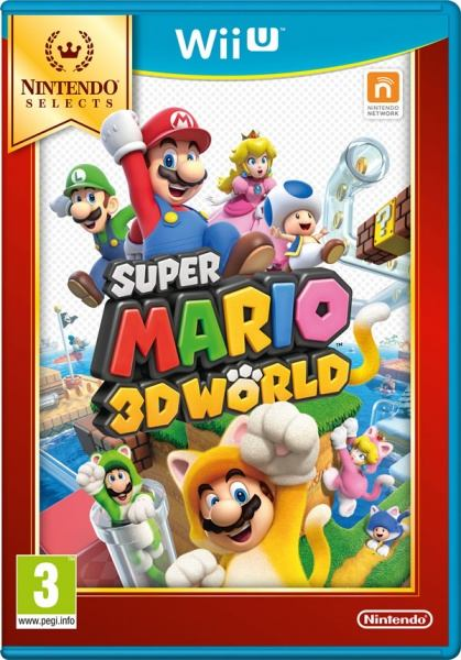 Nintendo WiiU Super Mario 3D World Select