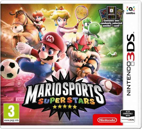 Nintendo 3DS Mario Sports Superstars + amiibo card (1pc)