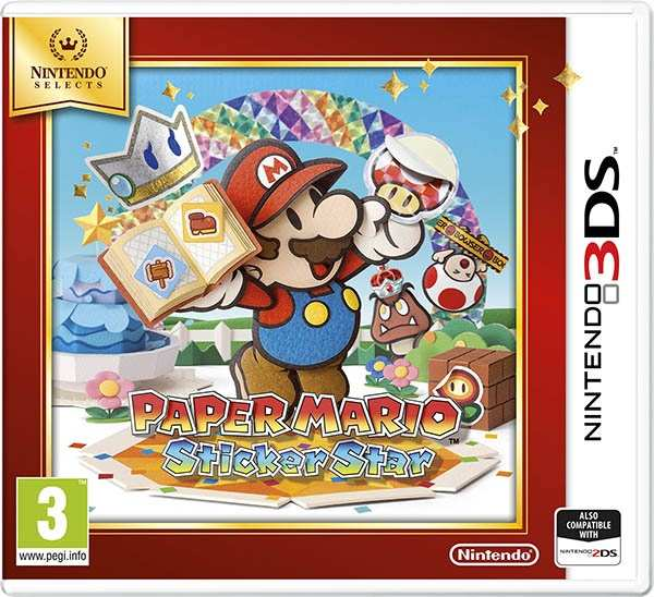 Nintendo 3DS Paper Mario: Sticker Star Select