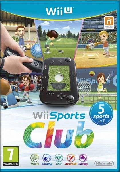 Nintendo WiiU Wii Sports Club