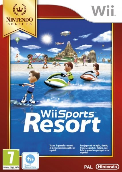 Nintendo Wii Wii Sports Resort Nintendo Select