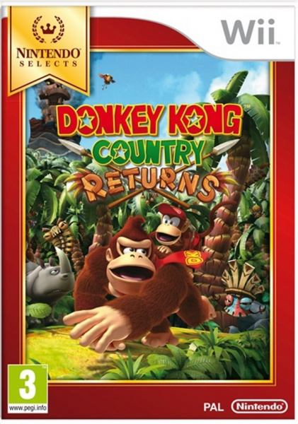 Nintendo Wii Donkey Kong Country Returns Select