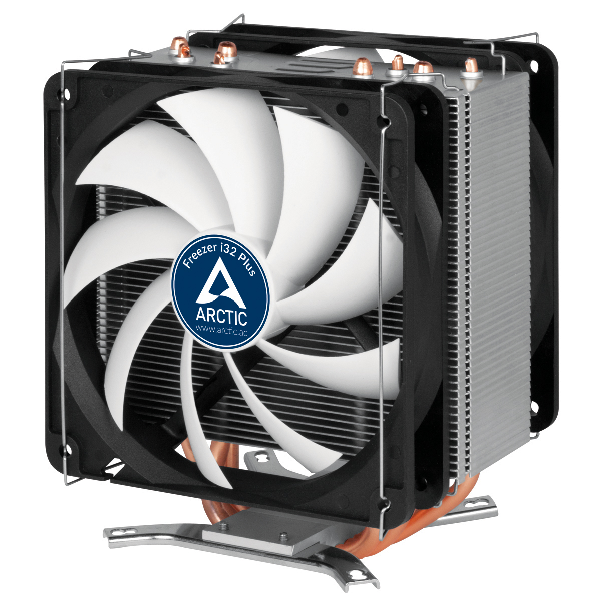 ARCTIC Freezer i32 Plus – CPU Cooler for Intel Socket 2011(-v3) /1150/1151/1155/1156/2066, direct touch technology