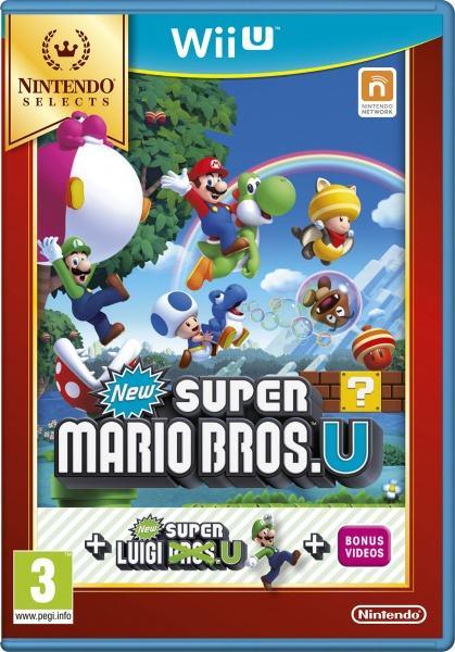 Nintendo WiiU New Super Mario B.U+New Super Luigi U Selects