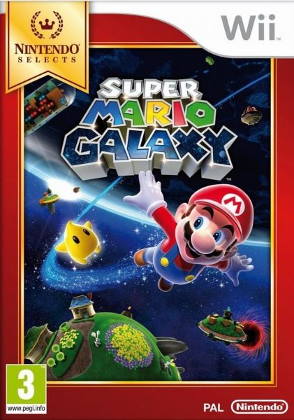 Nintendo Wii Super Mario Galaxy Select