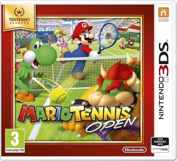Nintendo 3DS Mario Tennis Open Select