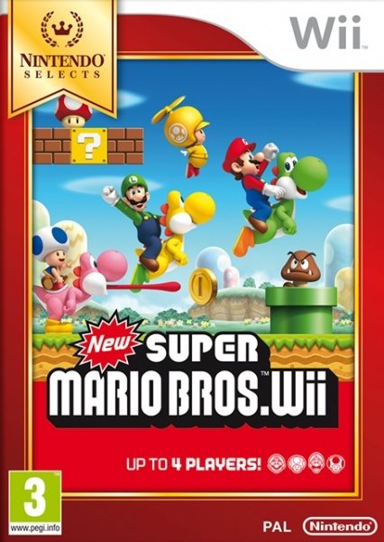 Nintendo Wii New Super Mario Bros. Wii Nintendo Selects