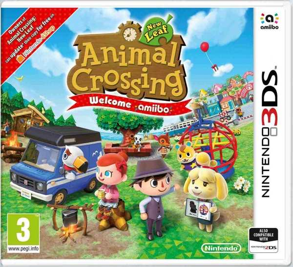 Nintendo 3DS Animal Crossing: New Leaf