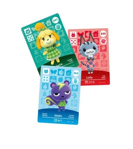 Nintendo 3DS Animal Crossing: Happy Home D. Card 3set Vol.4