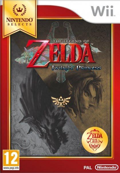 Nintendo Wii The Legend of Zelda: Twilight Princess Select