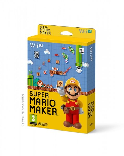 Nintendo WiiU Super Mario Maker + Artbook