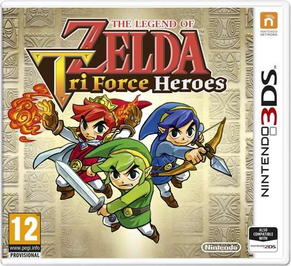 Nintendo 3DS The Legend of Zelda: Tri Force Heroes