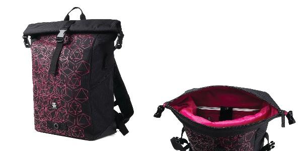 Crumpler Oneoniner - black / deep pink