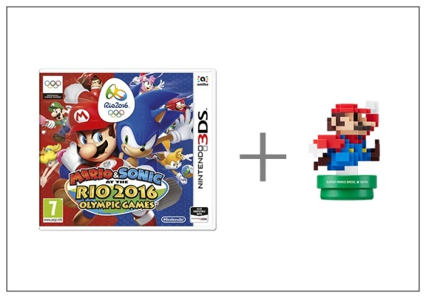 Nintendo 3DS Mario & Sonic at the Rio 2016 + Modern amiibo