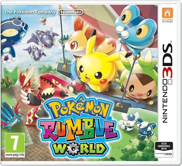Nintendo 3DS Pokémon Rumble World