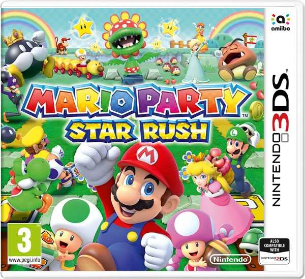 Nintendo 3DS Mario Party: Star Rush