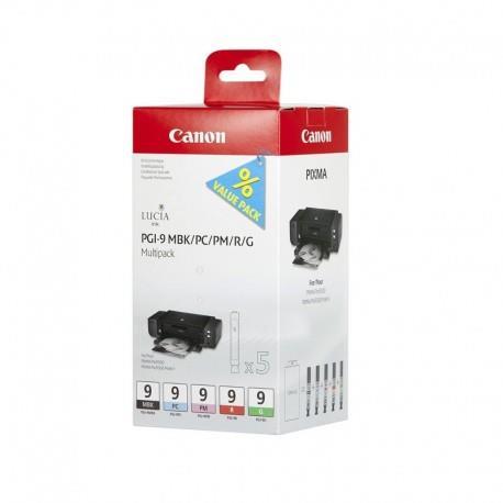 Inkoustová náplň Canon PGI9 (PGI-9) MBK/PC/PM/R/G MultiPack   Pixma Pro 9500